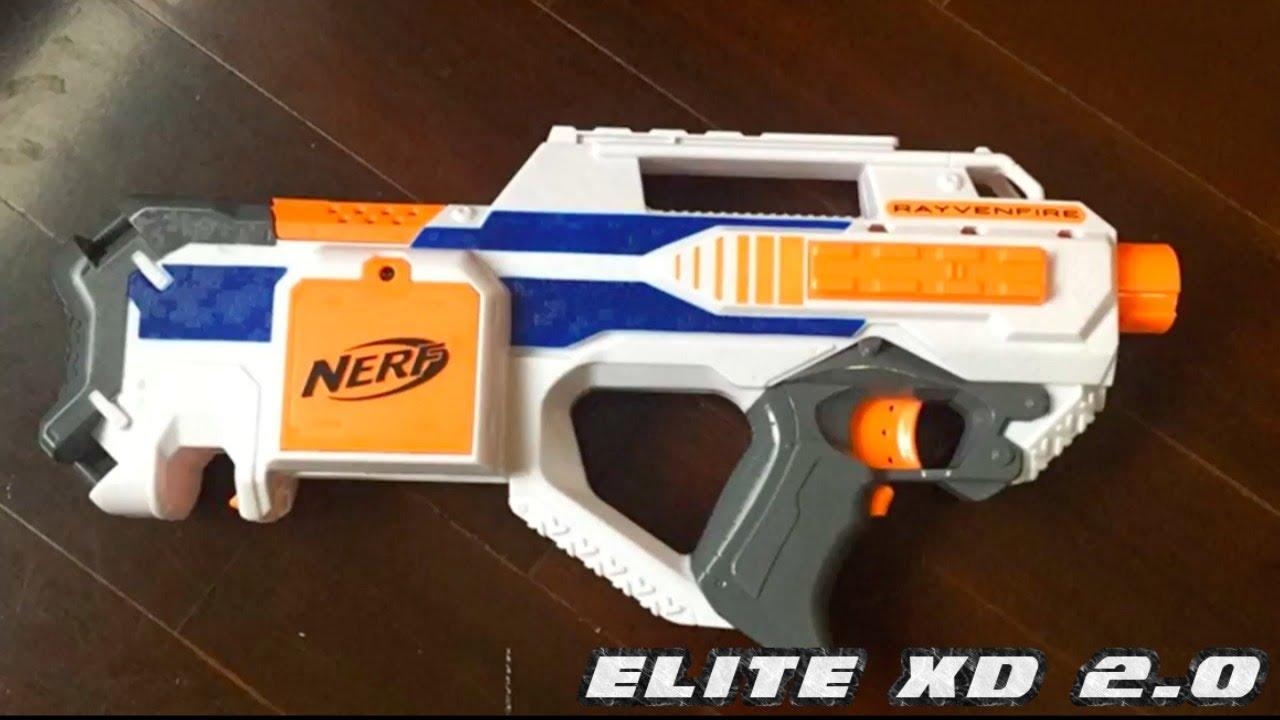 nerf news elite xd nerf rayven whiteout elite rayven youtube