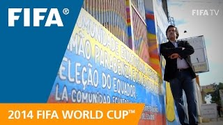 Inside a World Cup base camp