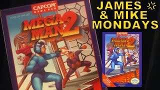 Mega Man 2 (NES Video Game) Part 1 - James & Mike Mondays