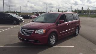2012 Chrysler Town & Country Touring Review