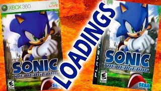 Sonic the Hedgehog 2006 PS3 VS XBOX 360 Loading Times