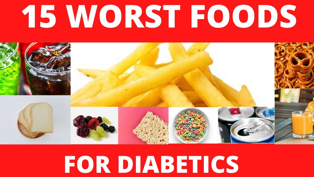 List Of Food Diabetics Should Avoid Foods Diabetics Should Not