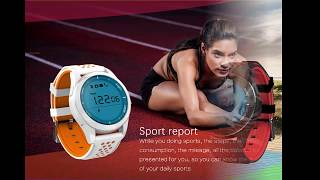 no 1 f3 ip68 waterproof sleep monitor pedometer sport fitness bluetooth smart watch for ios android