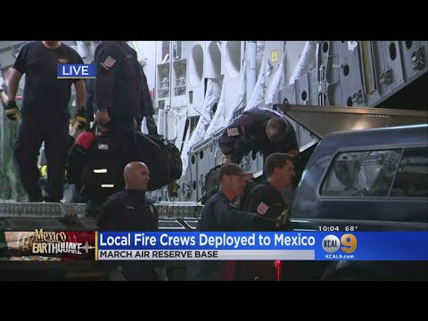 First-Responders Head To Mexico To Help With Rescue Effort