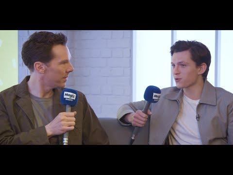 Benedict Cumberbatch and Tom Holland    Magic Breakfast