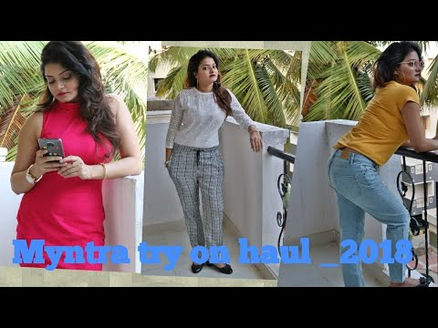 #Myntra clothing haul-2018-_GLITTERS WORLD