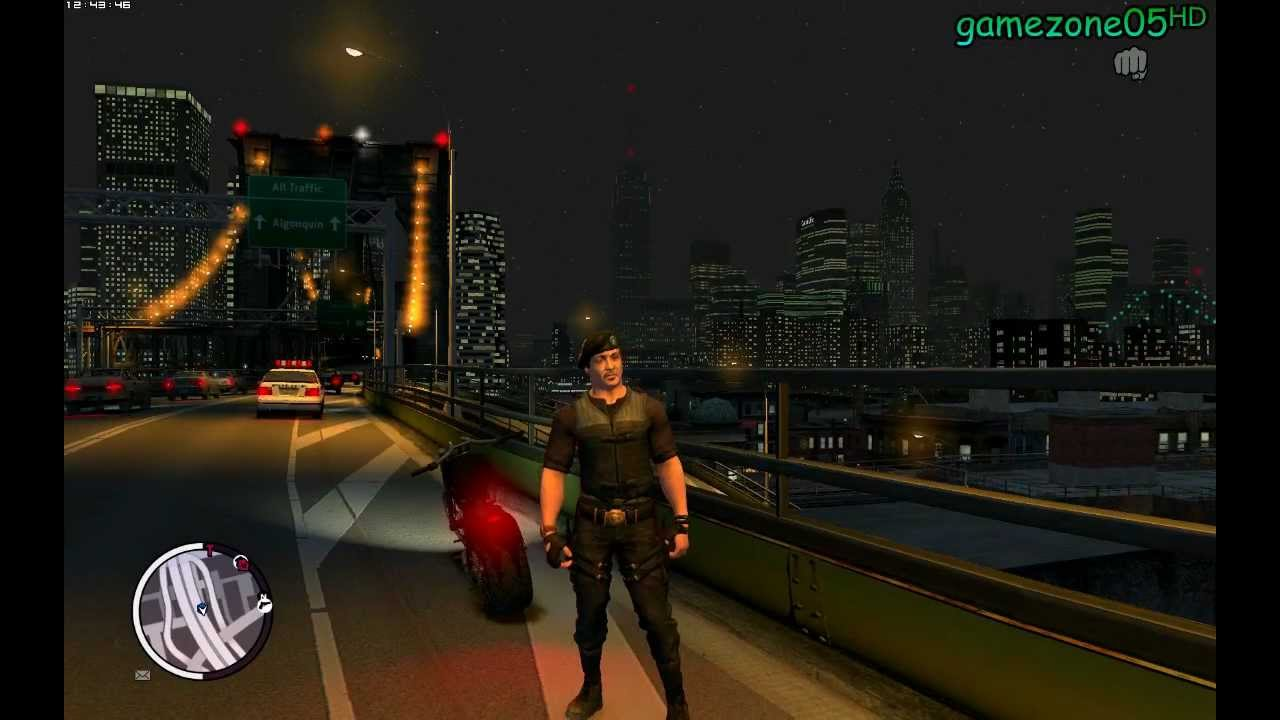 Download GTA IVᴴᴰ The Expendable - Stallone ◆ gamezone05