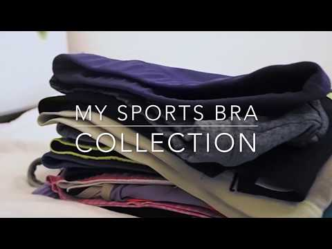 My sports bra collection | Catiana Izabelle