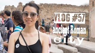 VLOG #57: COME TO THE CRUISE WITH ME! BARCELONA, NAPLES & POMPEII | FashionablyAMY