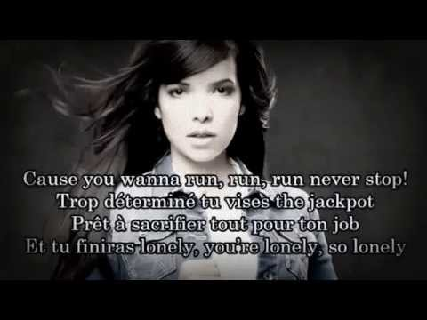 Indila - Run Run - (paroles)