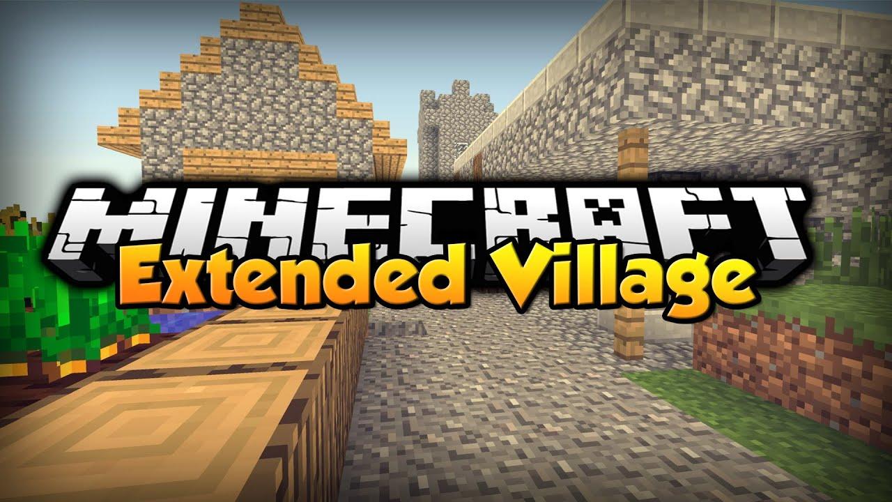 Minecraft Mod Showcase : Extended Village 8.8.80