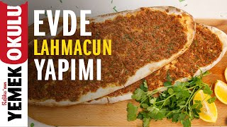How to Make Lahmacun at Home? | Crispy Easy Lahmacun Recipe