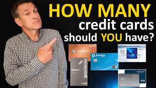 How many credit cards should a person have?