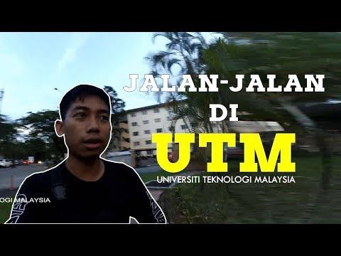 MAHASISWA ULM JALAN JALAN DI UNIVERSITI TEKNOLOGI MALAYSIA -  VLOGGG #01