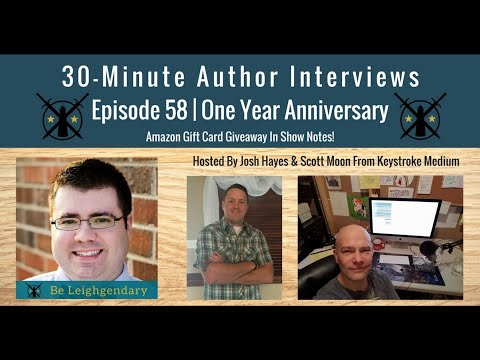 30-Minute Author Interviews | Episode 58 | One Year Episode
