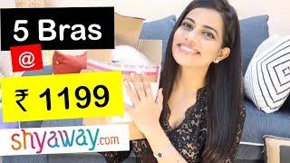AFFORDABLE BRAS @ Rs 275 FROM SHYAWAY.COM | ₹400 CASHBACK | Sana K