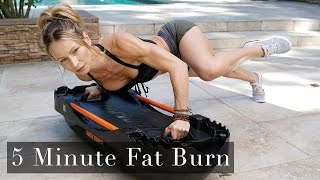 5 Minute Fat Burning Workout #119 - Terra Core!