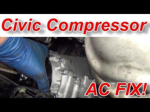 How to Diagnose and Fix Civic AC Compressor