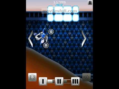 RedBull Moto Cross 2D Mobile Game