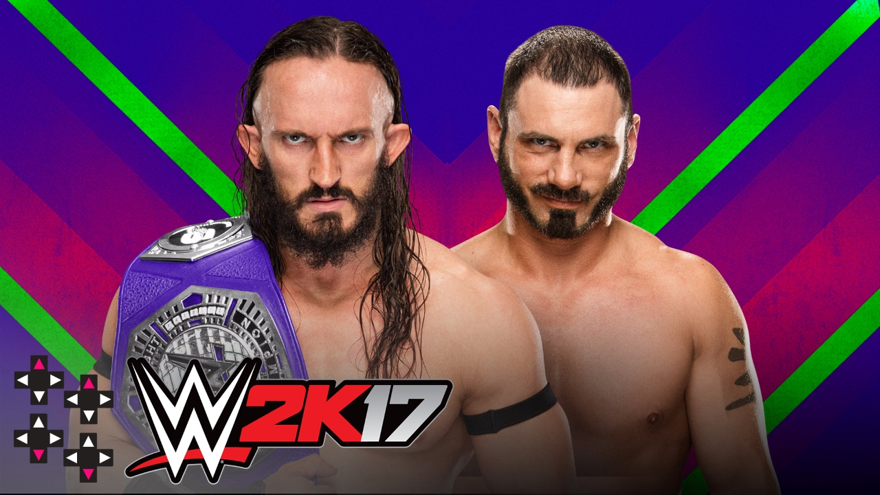 Extreme rules neville vs austin aries cruiserweight title submission match wwe 2k17 match sims
