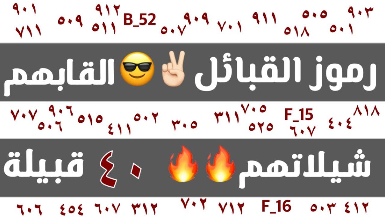 رموز القبائل القاب القبائل أكبر القبائل شيلات القبائل ادخل شوف قبيلتك موجودة 2020 Youtube