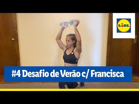 #4 Desafio de Verão c/ Francisca Laia   Treinar em Casa   Lidl Portugal