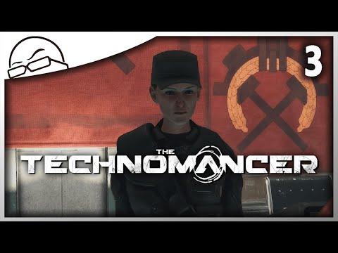 The Technomancer [Ep 3] - Captain E-lee-za? - Lets Play The Technomancer Gameplay