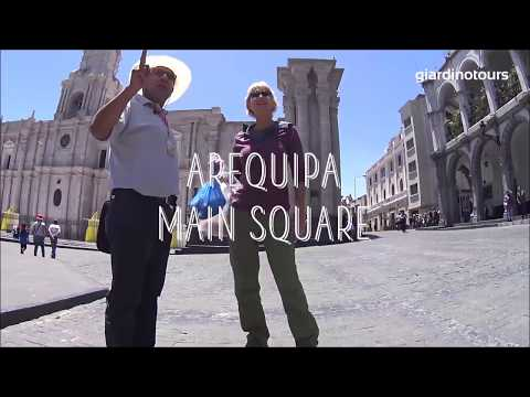 Arequipa City 4hrs Tour  with Giardino Peru