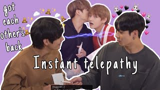 Taekook doesn't have to say a word to understand each other | instant telepathy!