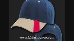 WHERE TO DESIGN YOUR OWN CUSTOM BASEBALL CAPS HATS - WWW.BHFASHIONCO.COM