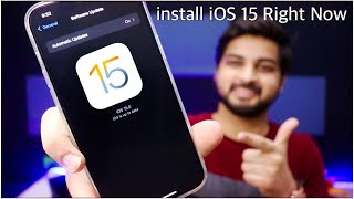 How To install iOS 15 beta on Your iPhone Without Developer account or Pc | Hindi | Mohit Balani