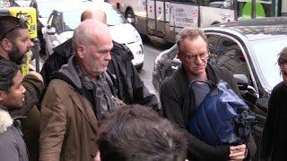 EXCLUSIVE:  Singer Sting arriving at C a vous tv show in Paris