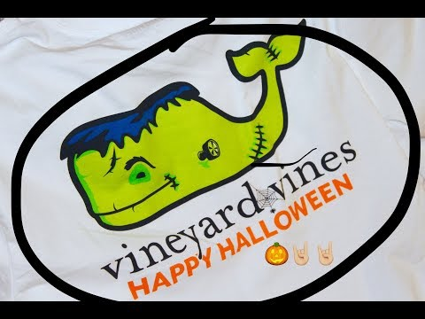 HALLOWEEN VINEYARD VINES (unboxing and entire collection)