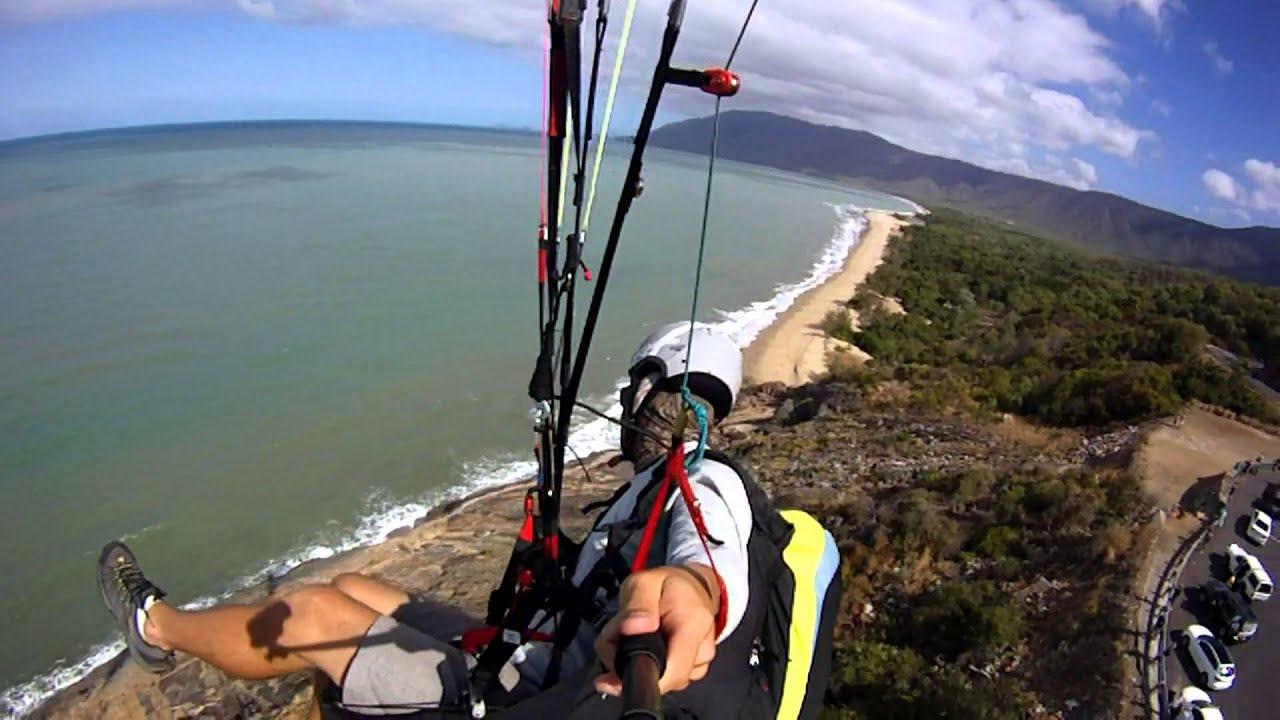 Paragliding cairns