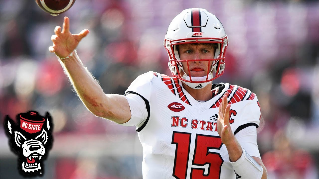 detailed look 81e05 0958f NC State QB Ryan Finley Top Plays 2018