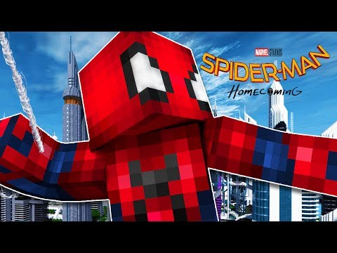 SPIDERMAN HOMECOMING ORIGINS! - Minecraft Roleplay