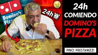 24h comiendo DOMINO'S PIZZA   Pino Prestanizzi