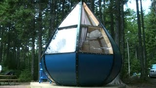 Parks Canada offering wild new shelter designs for campers