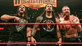 Yarra purane WWE Roman Reigns the shield
