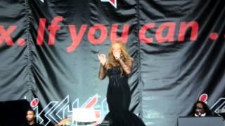 Mariah Carey - Without You 1080p - Ischgl 2012