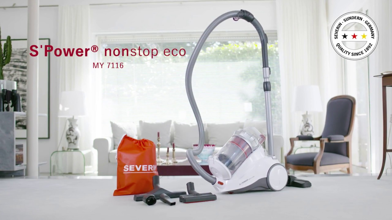 Severin Floorcare - Beutelloser Staubsauger My 7116 S´Power® Nonstop