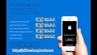 myHacks iOS 10.2.1 - 10.3.3 Jailbreak Tool 🔥