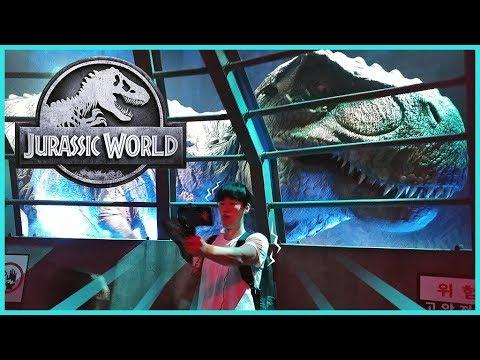 쥬라기월드 특별전 공룡이 한국에 왔어요. 인도미누스 티라노사우루스 엄청 커요. jurassic world the exhibition in korea.