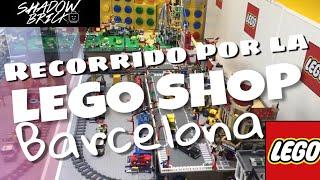 Recorriendo la LEGO shop más grande de Barcelona