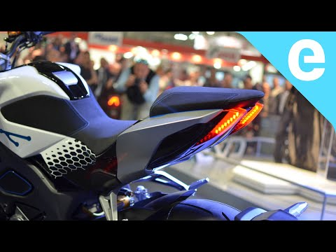 KYMCO RevoNEX electric motorcycle unveiling at EICMA 2019