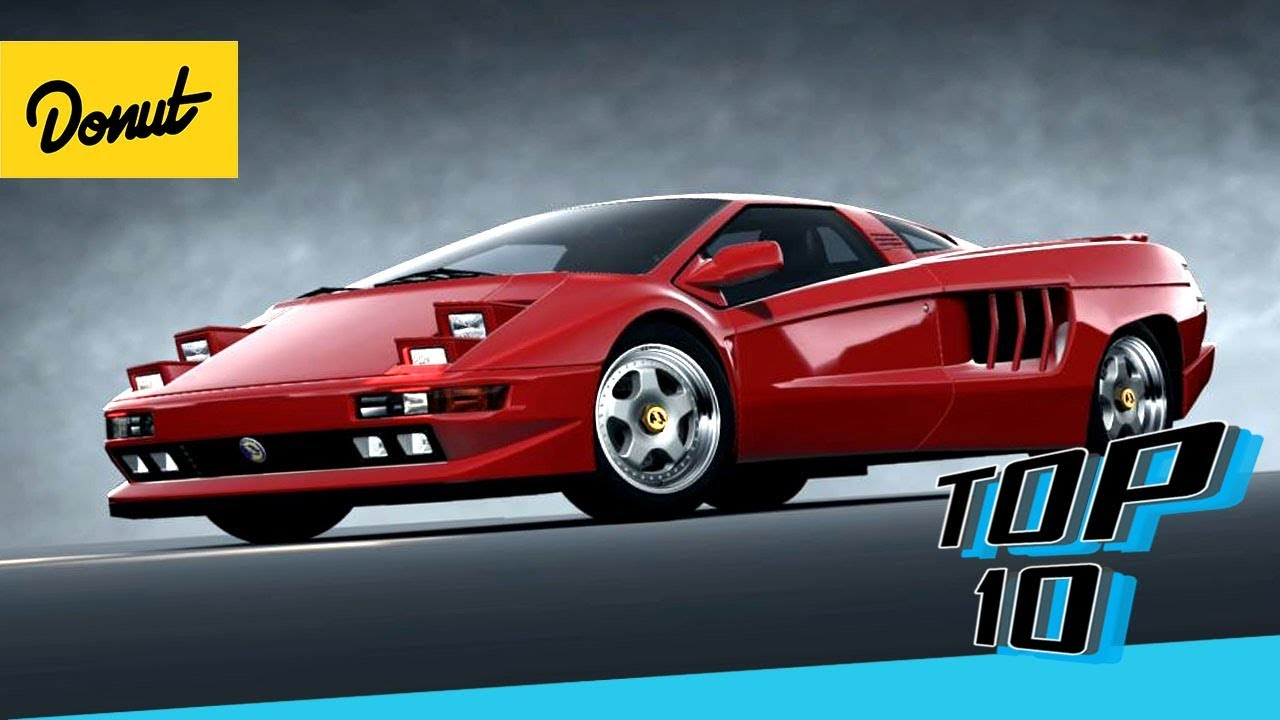 Top 10 Supercars From The 90 S Donut Media Youtube