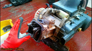 Ремонт скутера Fada/Viper 150 Розбір двигуна 157QMJ ГОД-2.1