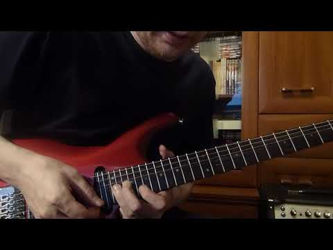 Joe Satriani - Thunder High On The Mountain (cover)