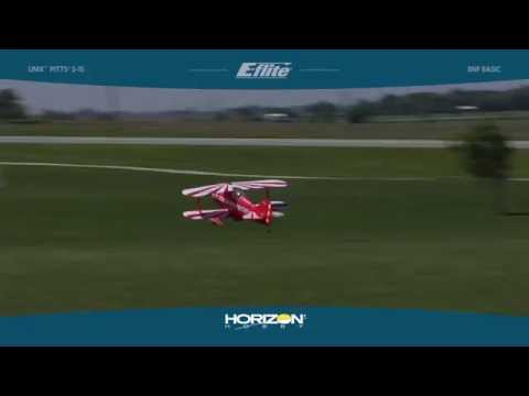 UMX™ Pitts S-1S BNF Basic with AS3X® Technology by E-flite