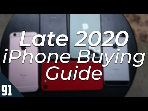 Late 2020 iPhone Guide - Which iPhone should you buy?